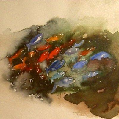 3104 Balıklar 49x32