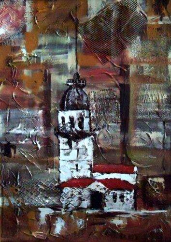 1030 Kız Kulesi 50x70